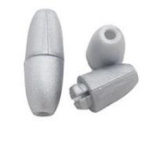 Műanyag kapocs 25x9mm-ezüst