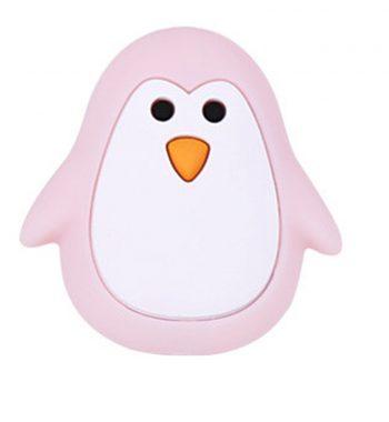 Pingvin gyöngy-pasztell rózsaszín