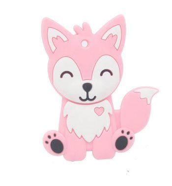 Szilikon rágóka-Husky-rózsaszín