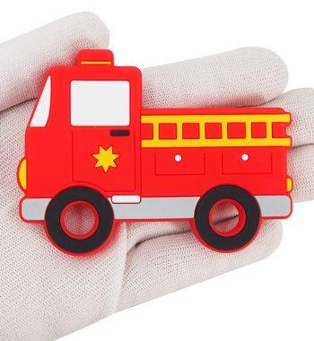 Szilikon rágóka-Tűzoltóautó