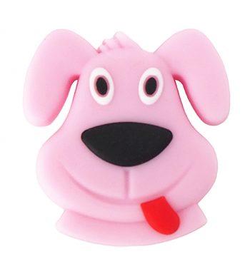 Kutyus gyöngy-rózsaszín