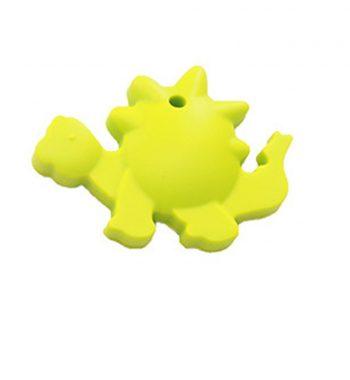 Szilikon rágóka-Stegosaurus-lime