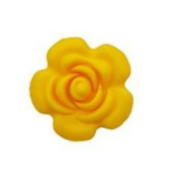 Nagy rózsa gyöngy-sárga