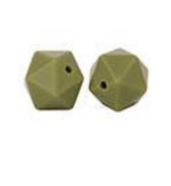 Icosahedron 17mm-khaki