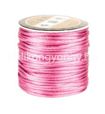 Szatén zsinór 1.5mm-rózsaszín